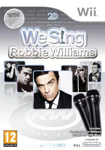 We Sing : Robbie Williams + 2 micros sur Wii