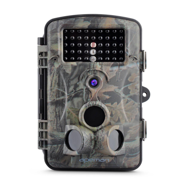 Caméra de chasse HD Apeman - 12 Mpix, infra-rouge, jusqu'à 20 m