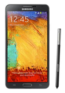 Smartphone Galaxy Note 3 avec un forfait 2ans Carré 4G 5Go (avec ODR 100€)