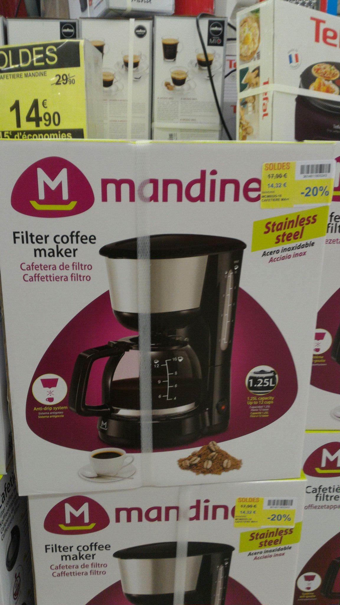 Cafetière à filtre Mandine