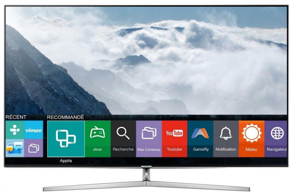 """TV 65"""" Samsung UE65KS8000 - LED, 4K SUHD, Quantum Dot, Smart TV, 2300 PQI"""