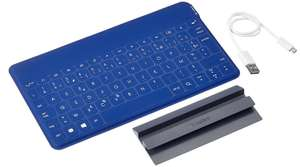 Clavier Logitech Keys-To-Go ultra-portable Bluetooth rechargeable - Android 4.1/Windows 7 (Bleu)