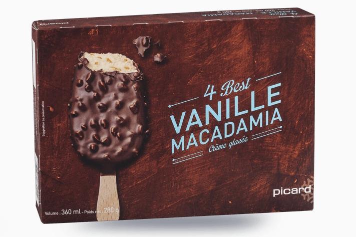 1 boîte de glaces achetées = 50% de réduction sur la 2ème (la moins chère des deux) sur une sélection de produits Picard
