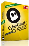 """Abonnement de 12 mois au VPN CyberGhost """"Special edition"""""""
