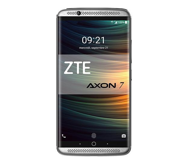 """Smartphone 5.5"""" ZTE Axon 7 - 64Go, 4Go de Ram, 4G, Or"""