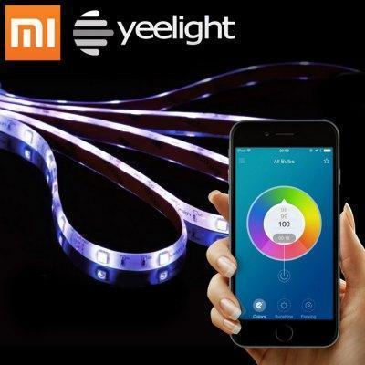 Bandeau LED RGB connecté Xiaomi Yeelight Smart Light Strip compatible Android et iOS - Wi-Fi, 2m