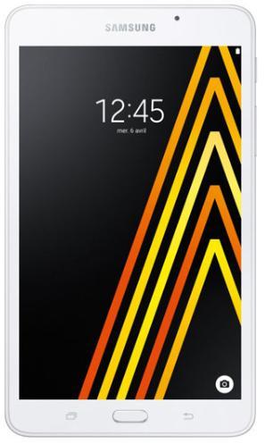 """Tablette 7"""" Samsung Galaxy Tab A Blanc (2016) - 4G, HD, RAM 1.5Go, 8Go"""