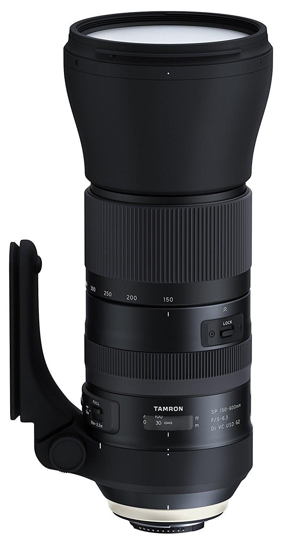 Objectif Tamron 150-600mm f/5-6.3 VC SP Di USD G2 - Monture Nikon