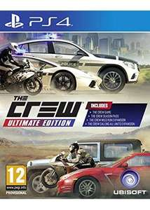 The Crew - Ultimate Edition sur PS4