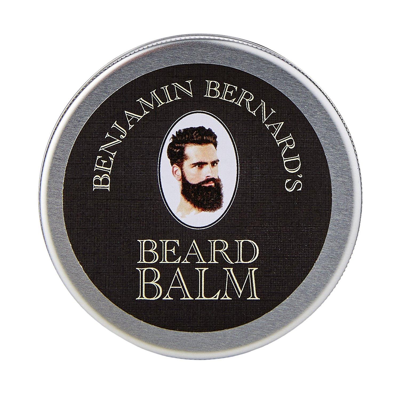 ensemble de soin pour barbe benjamin bernard (huile + baume + shampooing)