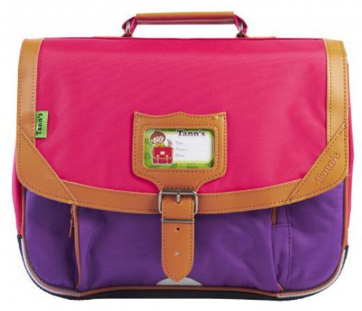 Cartable Classic Tann's 35cm - Violet/Rose