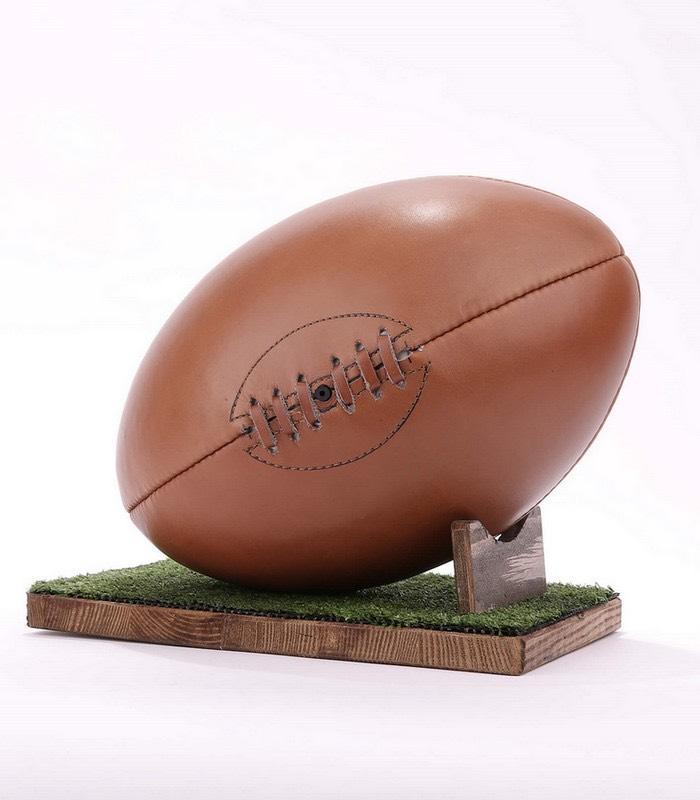 15% de réduction sur tout le site + livraison gratuite Ex: Ballon de rugby personnalisé à 76€