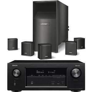 ampli home cin ma denon avr x2400h kit enceintes 5 1 bose acoustimass 6 series v coloris au. Black Bedroom Furniture Sets. Home Design Ideas