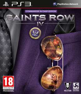 Saints Row IV - Commander in chief sur PS3