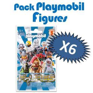 Pack de 6 figurines avec accessoires Playmobil 5460 - Série 5