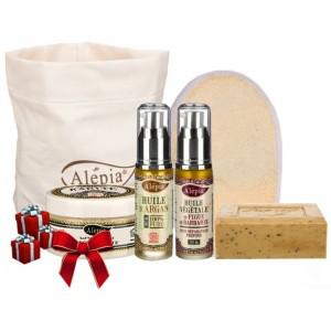 Trousse de Noel avec 4 produits cosmétiques