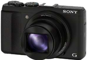 """Appareil photo numérique Sony DSC-HX50 3D (Ecran 3"""", 20 Mpix, Zoom optique 30 x, HDMI, WiFi, USB)"""