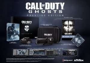 Call Of Duty Ghosts Edition Prestige sur PS3 et Xbox 360