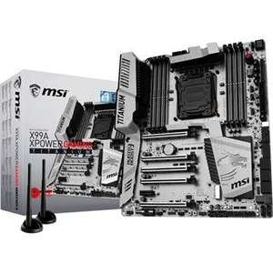 Carte mère MSI X99A XPower Gaming Titanium Intel X99 So.2011-3 Quad Channel DDR4 EATX Retail