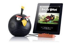 Station d'accueil pour tablette Angry Birds rouge