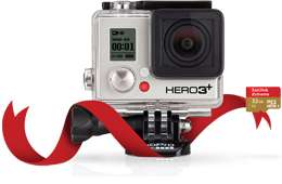 Camera GoPro HERO3+ Black Edition + carte micro SD 32Go Offerte