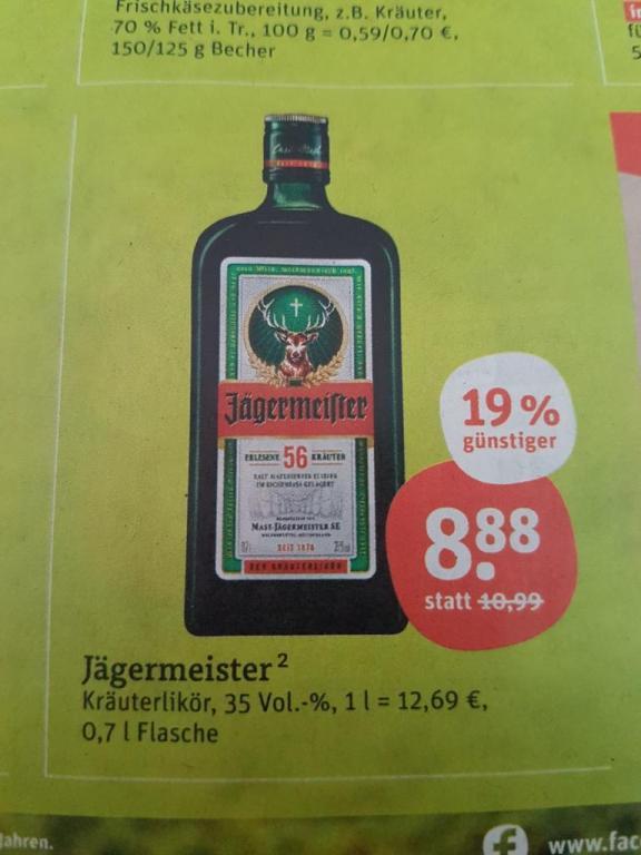 Bouteille de Jägermeister - 70cl
