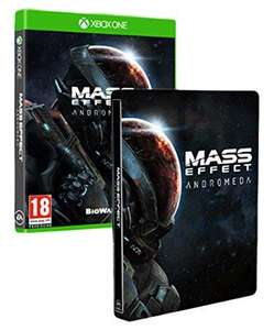 Mass Effect : Andromeda + Steelbook sur Xbox One