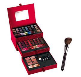 Ensemble palette maquillage 54 couleurs + pinceau blush offert + Cadeau (Valeur 40€) offert + frais de port gratuit