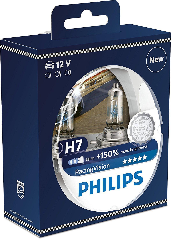 Paire d'ampoules Philips RacingVision +150% H7