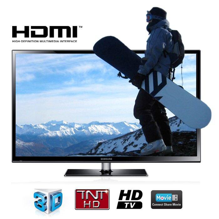 """Samsung 50"""" PS 51F4900 Plasma TV 3D (720p)"""