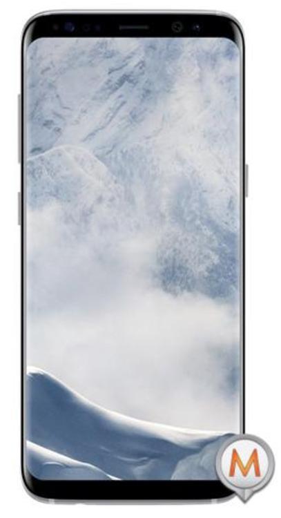 """Smartphone 5.8"""" Samsung Galaxy S8 LTE SM-G950F - Argent, 64 Go"""