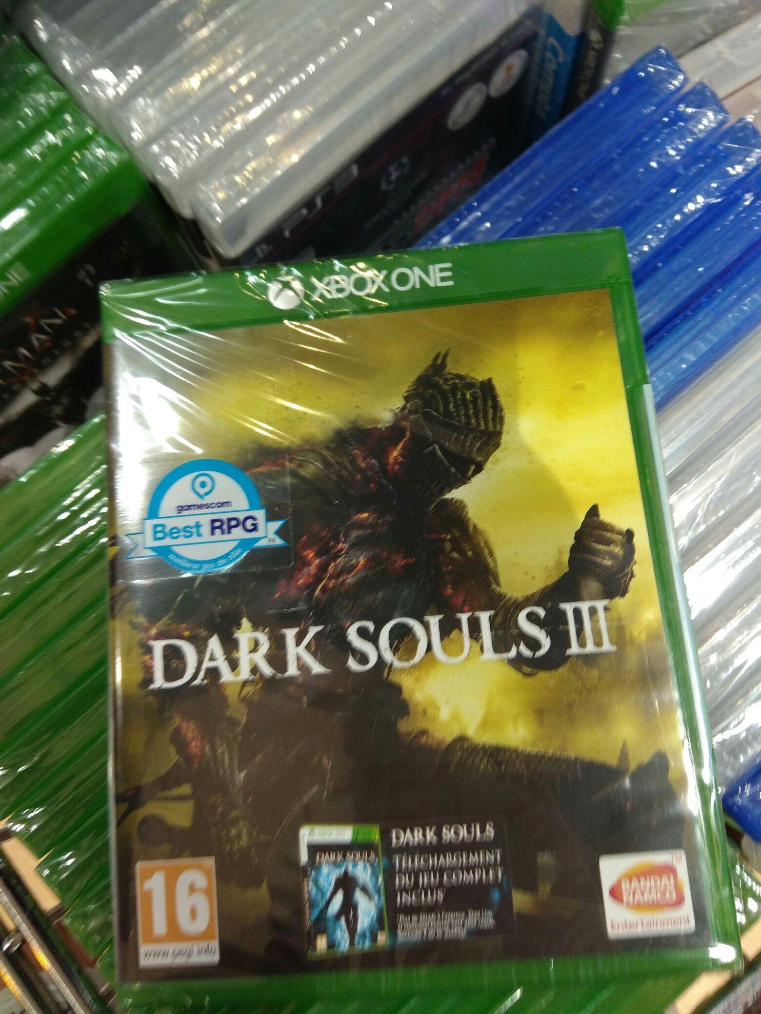 Sélection de jeux en Promotion - Ex : Dark Souls 3 sur Xbox One (+ Dark Souls en téléchargement)