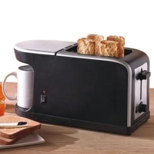 Combiné petit-déjeuner : Cafetière 250 ml + Grille pain (Frais de port inclus)