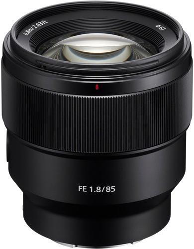10% de réduction sur tous les objectifs Sony - Ex : Sony FE 85mm f/1.8 à 584,10€
