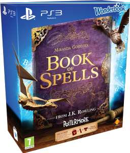 Pack Book of Spells + Wonderbook + Playstation Move et Caméra Playstation Eye
