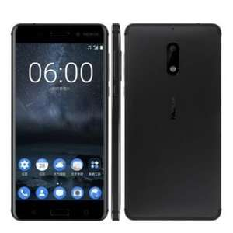 "Smartphone 5.5"" Nokia 6 - Full HD, RAM 4 Go, ROM 32 Go"