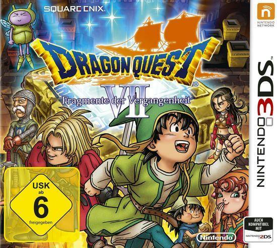 Dragon Quest VII: La Quête des vestiges du monde sur 3DS