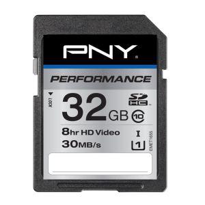 Carte SD PNY Performance 32 Go Classe 10 UHS-1