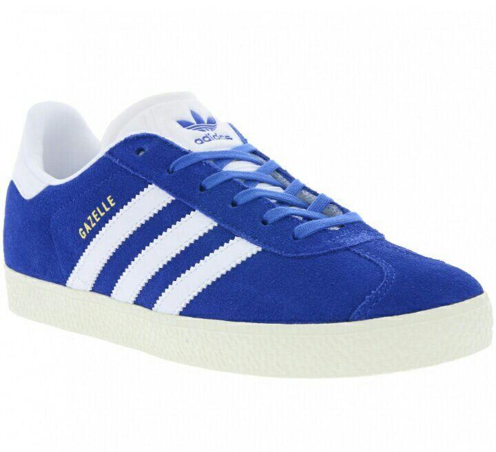 Baskets enfants Adidas Originals Gazelle - Taille 35 au 38, Noir ou Bleu