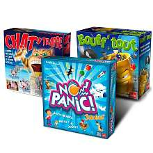 Mega Pack Goliath 3 jeux (Bouff'Tout + Chat' Trappe + No Panic Junior)