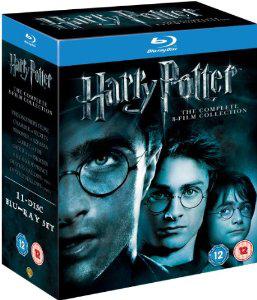 Coffret Blu-ray Harry Potter intégrale (UK)