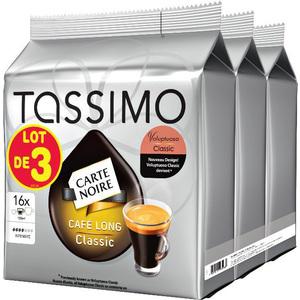 3 paquets de dosette Tassimo gratuit (Cumule de 3 bons de réduction)