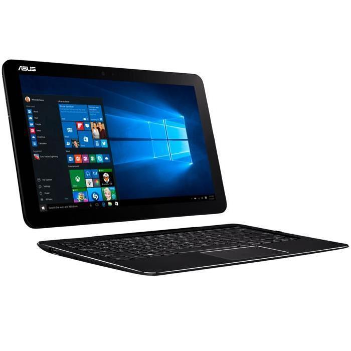 """[Cdiscount à volonté]  PC 2-en-1 12.5"""" Asus Transformer Book Pro T302CA-FL015T - Full HD, SSD 128 Go, 4 Go RAM, Intel M3-6Y30, Windows 10"""