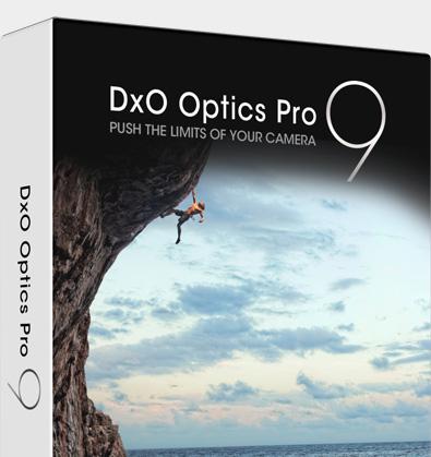 Offre de lancement Logiciel dxo optics pro 9
