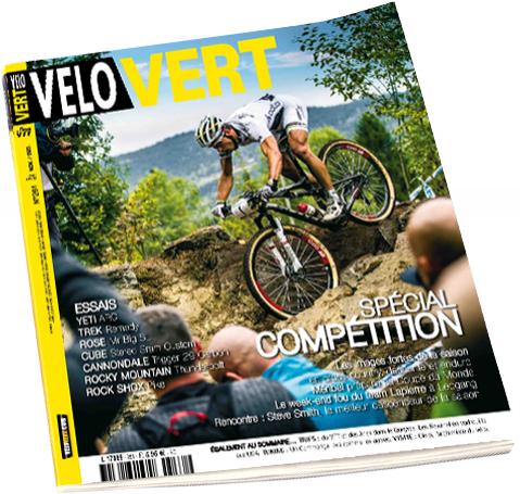 Magazine Vélo Vert Juillet offert en PDF suite au crash du site