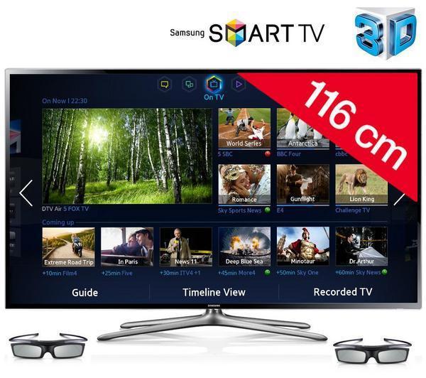 "TV 46"" Samsung UE46F6400 LED 3D Smart TV"