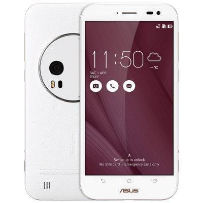 "Smartphone 5.5"" Asus ZenFone Zoom ZX551ML Blanc - 4G (B20), IPS Full HD, Quad-core Z3590, RAM 4Go, 128Go"
