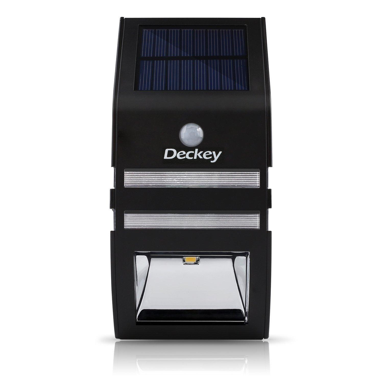 Lampe solaire d 39 ext rieur deckey tanche for Lampe etanche exterieur