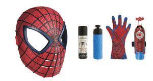 Coffret Spiderman Masque + Lance Fluide et Eau de Luxe