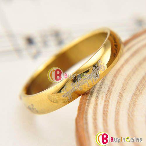 Réplique anneau du seigneur des anneaux